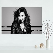 Custom demi lovato canvas poster Wall Art Home Decoration cloth fabric wall poster print Silk Fabric  sc 1 st  AliExpress.com & Buy demi lovato poster and get free shipping on AliExpress.com