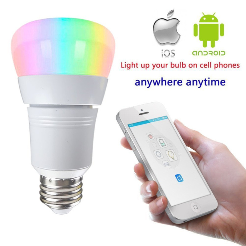 Dimmable LED Bulb Light Bulb E27 8W Smart Home WIFI Bulb