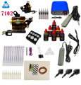 BJT TATTOO Machine Kit Equipment Ink Set Tatoo 6 colors ink Rotary Tattoo Gun kit supplies