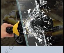 116cm 3 person Auto open auto close tungsten steel safe hammer parasol self-defense mini golf car business gift  box umbrella