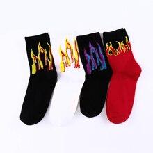 New Design Mens Socks Cotton Funny Socks Men's Autumn Winter