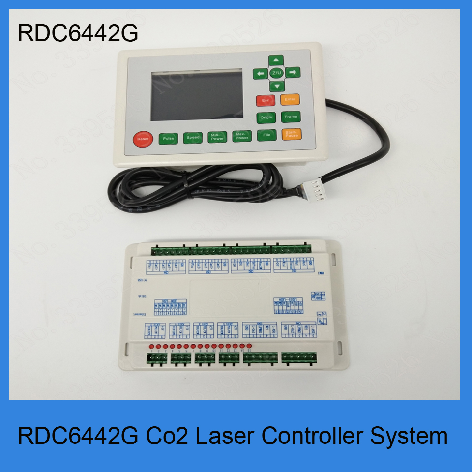Color display co2 laser controller system RDLC6442G For laser cutting machine