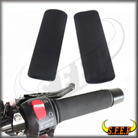 Universal Foam Anit Vibration Motorcycle Comfort Grip Covers For BMW Kawasaki Honda KTM Yamaha Suzuki Harley