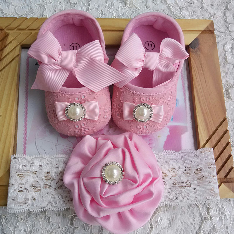 Baby Newborn Booties Newborn Baby Girl Shoes Brand Toddler Infant Fabric Baby