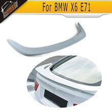 PU Sin Pintar trasero trunk Boot Lip Spoiler Para BMW HM Estilo E71 X6 2008-2013
