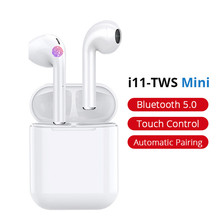 i11 tws Wireless Earphones 5.0 Stereo Bluetooth Headphones Sports Mini Earbuds Headsets with Mic For Mobile Phone Earphone 2016 brand new stereo earphone for panasonic gd76 earbuds headsets with mic remote volume control earphones