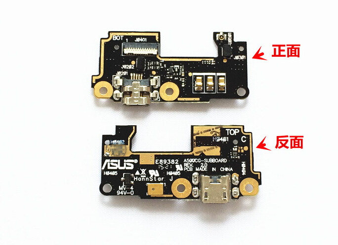 NEW Original USB Charge charging Microphone connector port jack board For ASUS Zenfone5 Zenfone 5
