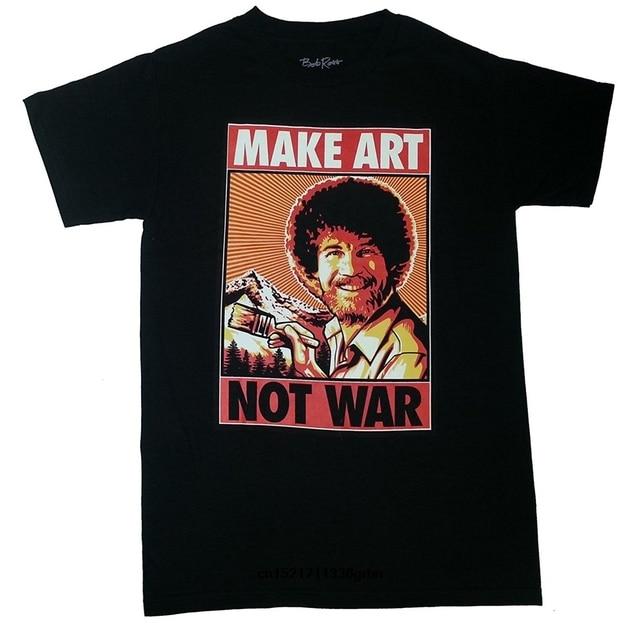 men t shirt bob ross inc make art multi size fortnite funny t shirt novelty tshirt women - fortnite bob ross