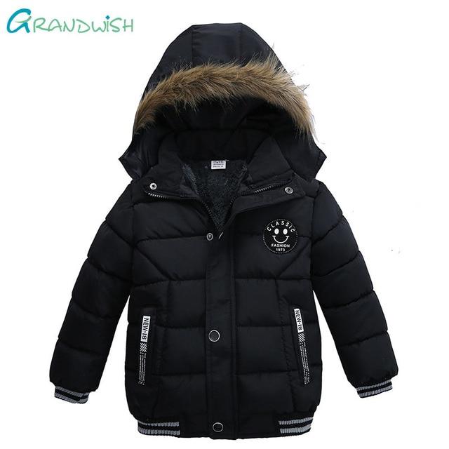4d98f4294 Aliexpress.com   Buy Grandwish Boy Down Jacket Winter Warm Boys Star ...