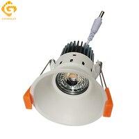 GO OCEAN Downlights Down Lights 85 265V 12W Recessed Lighting LED Downlight Spot Ceiling Lamp Spotlight