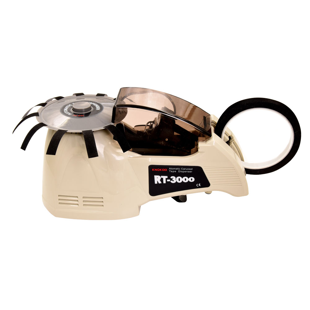 KNOKOO Automatic Tape Dispenser RT-3000 for Glass Tape and Double-side Tape kitlee40100quar4210 value kit survivor tyvek expansion mailer quar4210 and lee ultimate stamp dispenser lee40100