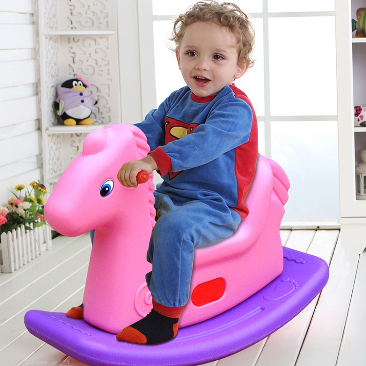 High Quality SGS Ride On Animal Toy Child Rubber Jumping Horse Sport Fitness Game Jumping Ride On Toy PS34 funny fishing game family child interactive fun desktop toy