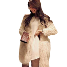 Winter Women New Full Wool Coat Fur Leisure Leather Jacket Full Covered Button Faux Casaco Depele Woman Top Fashion Hot Sale A50