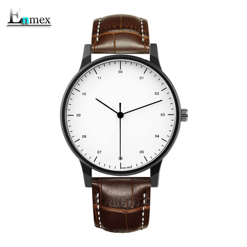 gift Enmex brief gentleman wristwatch Deployment buckle creative designs with Trend of Europe and America fashion quartz watches hot men women gift enmex brief steel band creative geometric designs floating pointer 3d dail with young fashion quartz watches