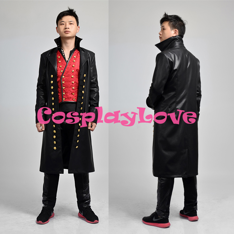 Once Upon A Time Costumes: America Once Upon A Time Captain Hook Cosplay Costume