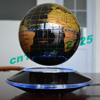 6 Inch Creative Electronic Magnetic Levitation Floating Globe World Map with LED Lights Christmas Birthday Home Decoration New
