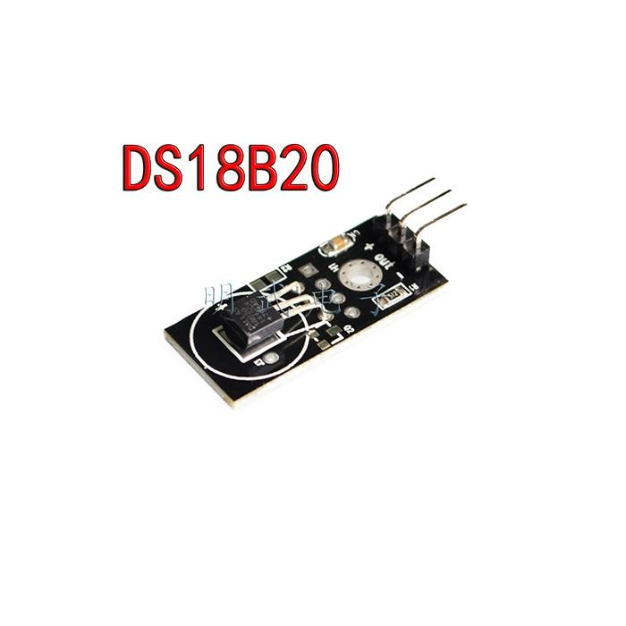 free shipping digital ds18b20 temperature module detection sensor module board for arduino dc 5v