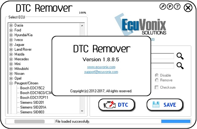 US $760 0 5% OFF|EcuVonix Full Pack (DTC Remover 1 8 8 5 +IMMO Universal  Decoding 4 5+ EDC17 Checksum Calc +AIRBAG Universal Repair 3 8 (2018) -in