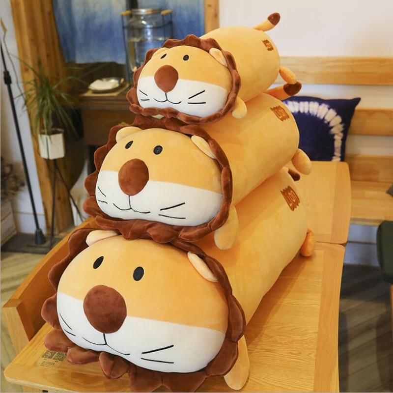 New Arrival Lovely Lion Plush Toy Stuffed Animal Doll Soft Pillow Children & Friends Christmas Gift