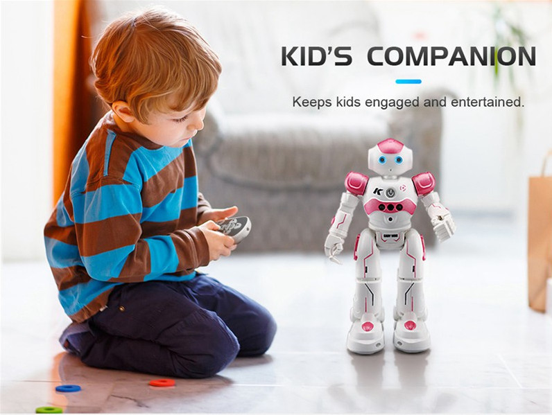 RC Robot With Singing Dancing Gesture remote control electric toys For boys Children Gift Presents , 2 4ghz multi mode control robot intelligent gesture sensor dancing singing laser