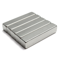 One Large Strong Neodymium Block Magnet 50mm X 9mm N35 Craft Fridge Diy High Quality Wholesale Price
