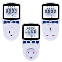 Digital Energy Meter 220V Wattmeter With Backlight Electronic Power Meter Record Volt Voltage Outlet Socket Meter EU/US/UK Plug