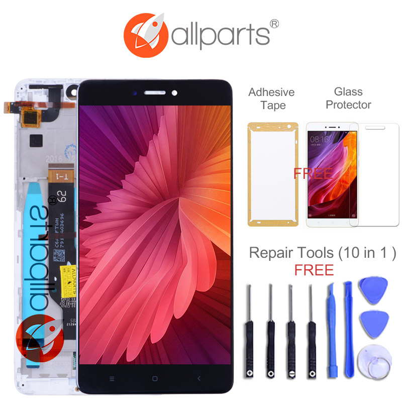 5.5 Snapdragon 625 IPS Note4X Display For XIAOMI Redmi Note 4X LCD Display Touch Screen Digitizer With Frame Replacement