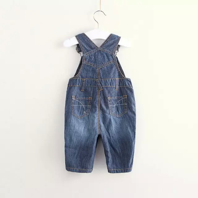 fb1e983f8a43f High Quality Brand baby rompers Infant boys girls Jumpsuit roupas de bebe  Denim Overalls jeans kids jeans Newbron romper-in Rompers from Mother    Kids on ...