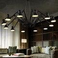 Spider Pendant Lights E27 90-240V 6-16 Head Loft American Modern Vintage Lamps Restaurant/Bedroom/Bar