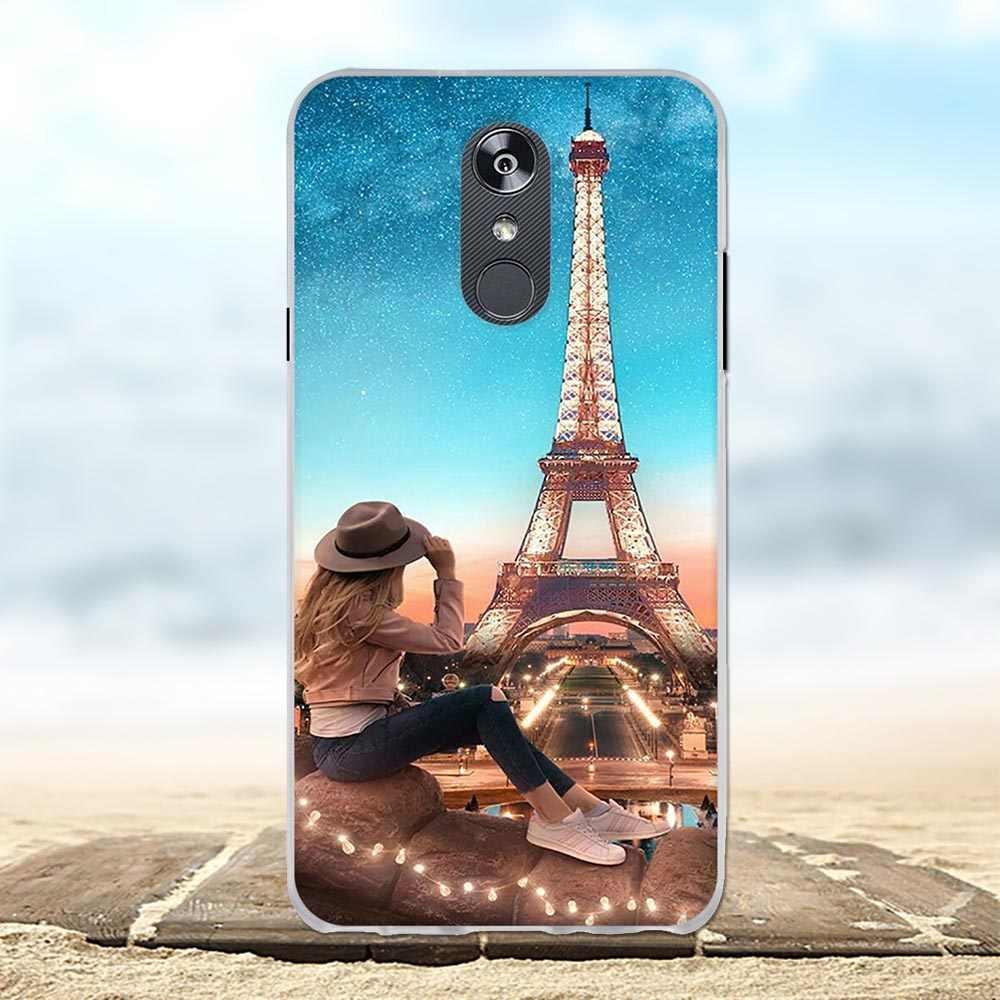 Untuk LG Q Stylo 4 Q710MS Case Lembut TPU Silikon untuk LG Stylo 4 Plus Cover Lion Pola untuk LG Q Stylus Plus Q Stylus Alpha Funda