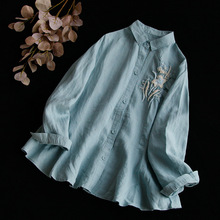 0ff2c087a5 Buy ramie cotton tops and get free shipping on AliExpress.com