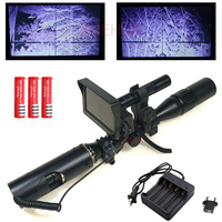 Hot New Outdoor Hunting Optics Sight Tactical Digital Infrared Night Vision Riflescope With Battery Monitor And
