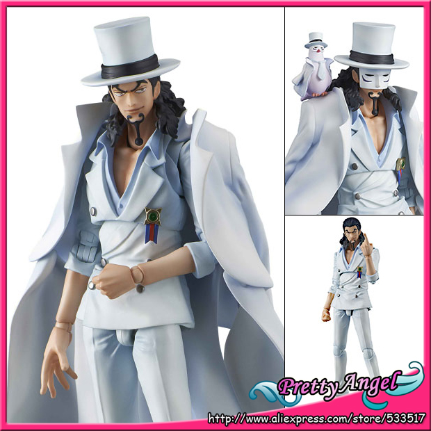 PrettyAngel - Genuine MegaHouse Variable Action Heroes ONE PIECE Rob Lucci Action Figure 1