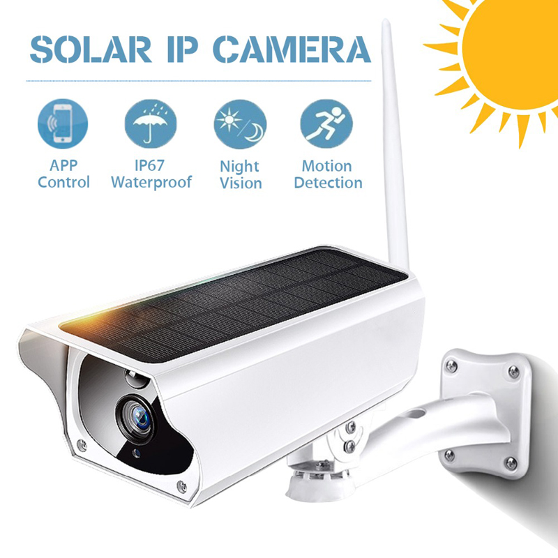 2MP Security Solar power Camera 4G Outdoor Waterproof 4G ip Camera Night Vision Surveillance CCTV Camera Video Recorder TF Card