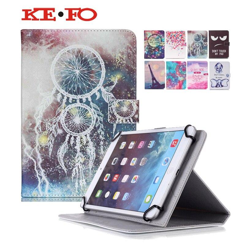 PU Leather Cover Case For Prestigio MultiPad PMT5001 3G 10.1 inch Universal Case Android Tablet PC PAD +Center flim+pen KF553C