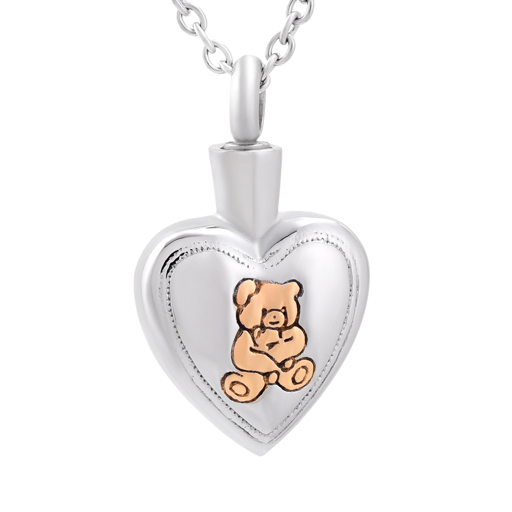 from lockets urn ash love on cremation teddy jewelry necklaces bear necklace pendant for in pet item memorial accessories