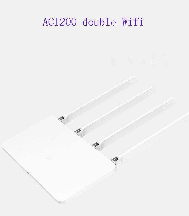 Xiao mi WiFi routeur sans fil 3G/4 867 Mbps WiFi répéteur 4 1167 Mbps 2.4G/5 GHz double bande 128 mo Flash ROM APP contrôle - 2