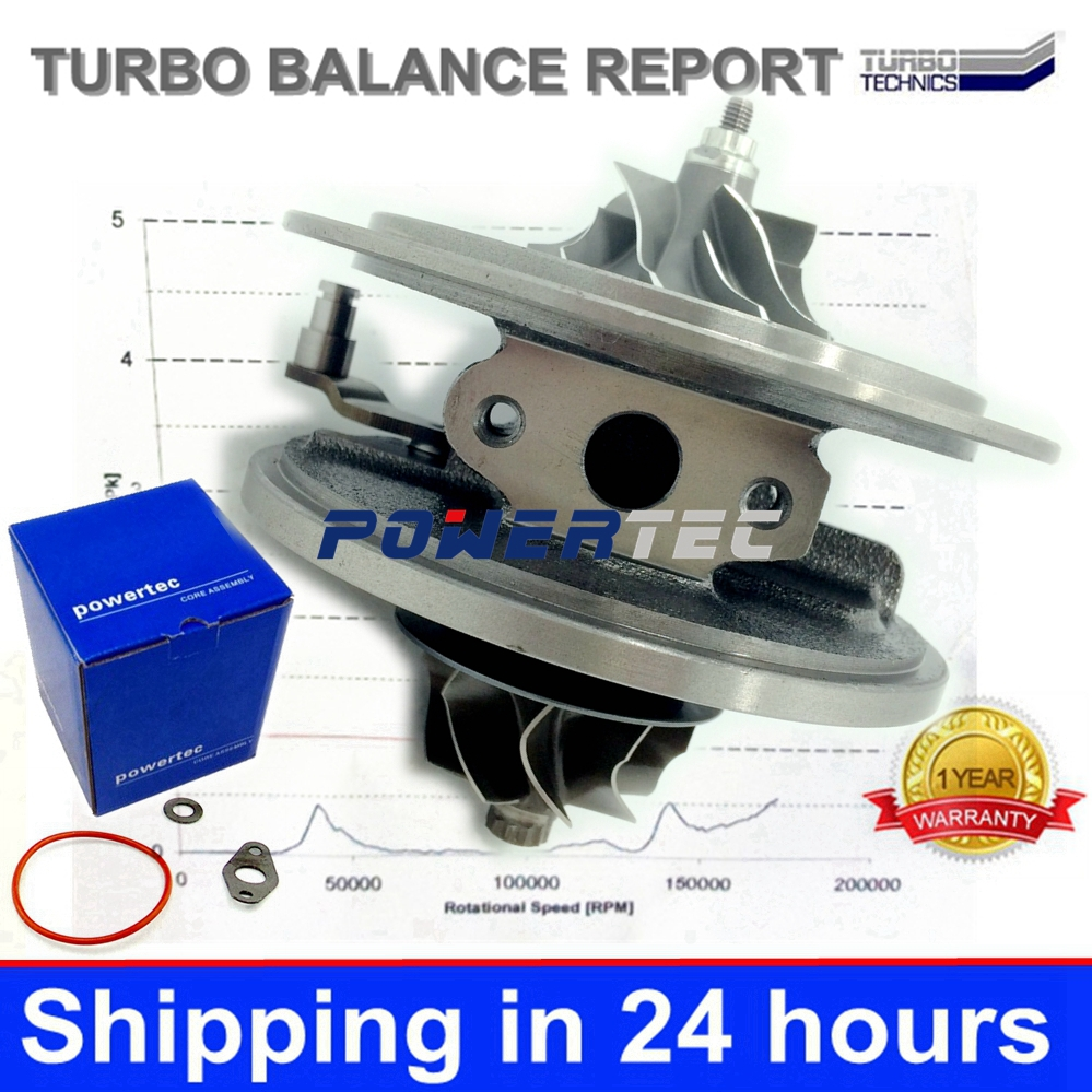 GTA2052V turbo charger CHRA 752610 6C1Q6K682EF 6C1Q6K682EH turbochargers cartridge for Land-Rover Defender 2.4 TDCi 143 HP