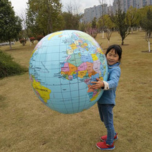 Large Inflatable globe 90CM Early Educational Inflatable Earth World Geography Globe Map Balloon Toy Beach Ball kids toys