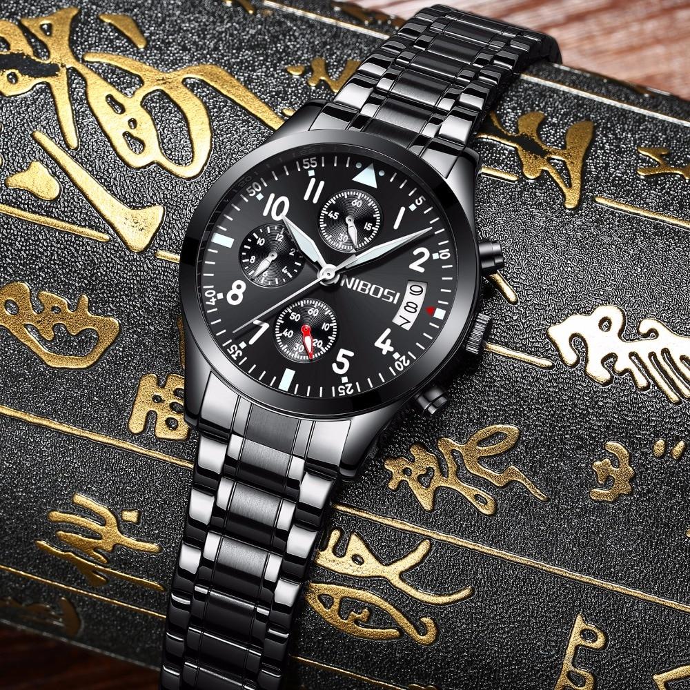 Watch Men Fashion Sport Quartz Clock Mens Watches Top Brand Luxury Full Steel Waterproof Gold Wrist Watch Relogio Masculino цена
