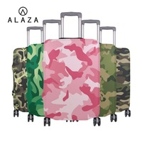 ALAZA Elastic Luggage Protective Cover For 18 32 inch Suitcase Protect Dust Case Leopard Camouflage Prints Travel Accessories