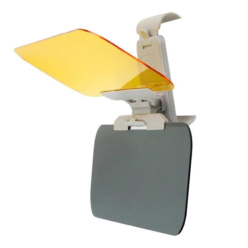 2019 New Car Sunshade Day Night Sun Visor Mirror Anti-dazzle Clip-on Driving Vehicle Shield Hot Selling