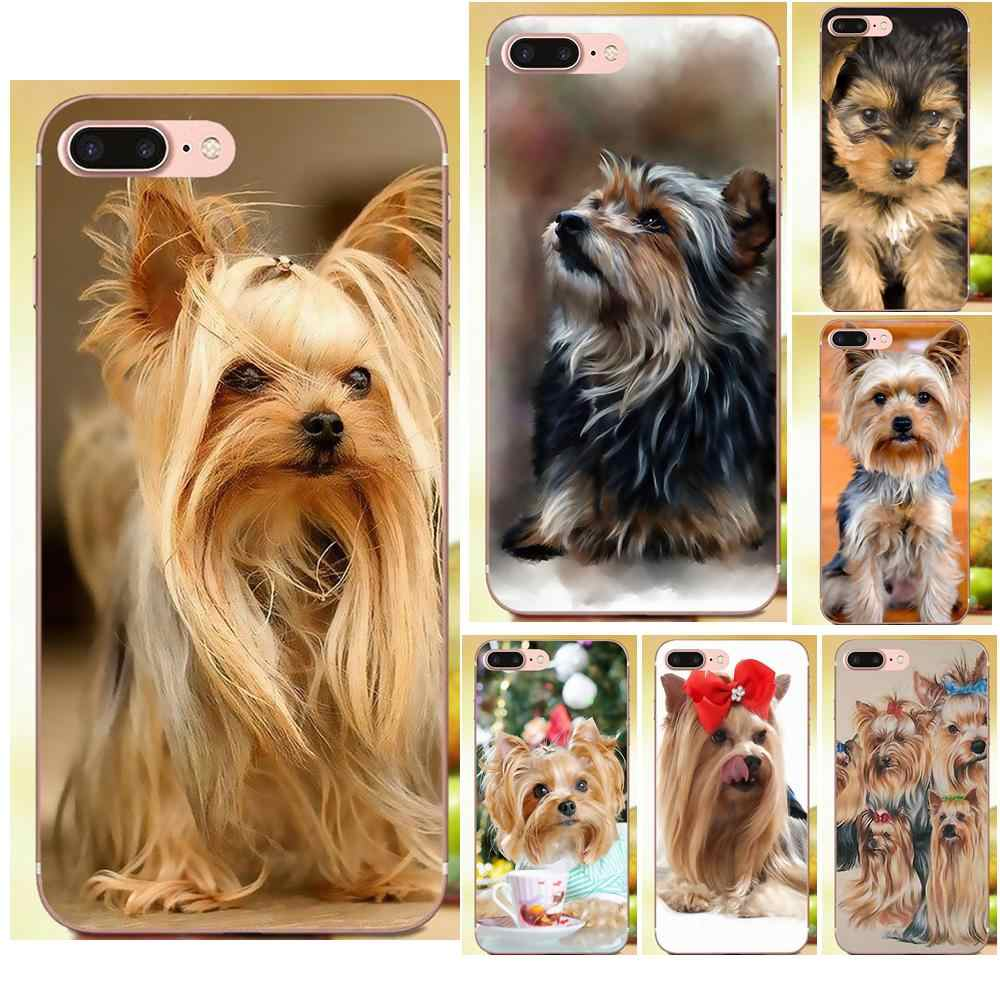 Фото Qdowpz дизайн щенок йоркширского терьера собака для huawei G8 Honor 5C 5X6 6X7 8 9 Y5II Коврики P7 P8