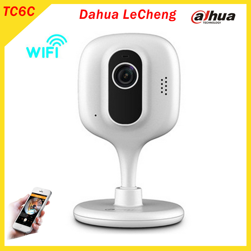 Dahua LeChange TC6C Wireless Wifi Camera Home Monitor Cell phone Remote Network HD Night vision 2 way Voice Security camera new wireless remote control baby monitor with night vision intercom voice wifi network ip camera electronic for smart phone
