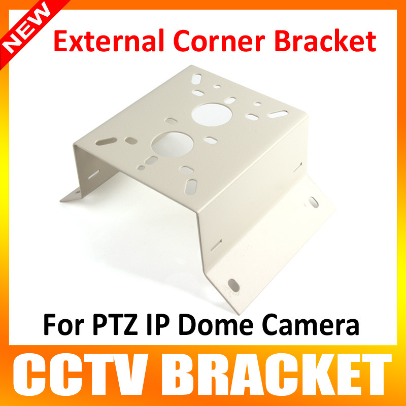 где купить New Metal Outdoor/Indoor External Corner Bracket Mounting For Suitable For 7 inch IP PTZ Dome Camera or Heavy Camera по лучшей цене