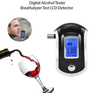 Image 5 - 息アルコールテストテスターアナライザディテクタアルコールテスト液晶デジタル警察飲酒ブローアルコール含有量テスターディスプレイ