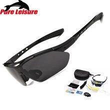 dcf2a729ec PureLeisure polarizadas pesca gafas de sol para hombres deporte Glassses  ciclismo UV400 gafas de sol Replaceable Lens 1 Unidades.