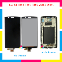 LCD Display Screen With Touch Screen Digitizer Assembly For LG G4 H810 H811 H815 VS986 LS991 Black No Frame or with Frame