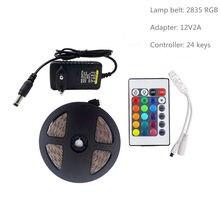 Светодиодная лента smd rgb светильник 5050 2835 10 м 5 светодиодный