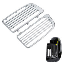 Chrome Radiator Grills For Harley Touring Models W/ Water Cooled System 14-18 17 Motorcycle